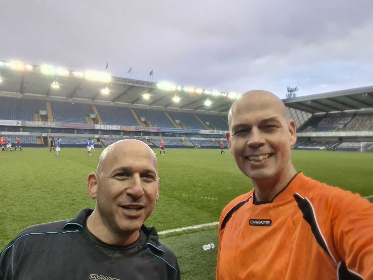 Almost Normal – Being Unfit, Entering a Tournament With Ex-Professional Footballers and a Very Sore Knee